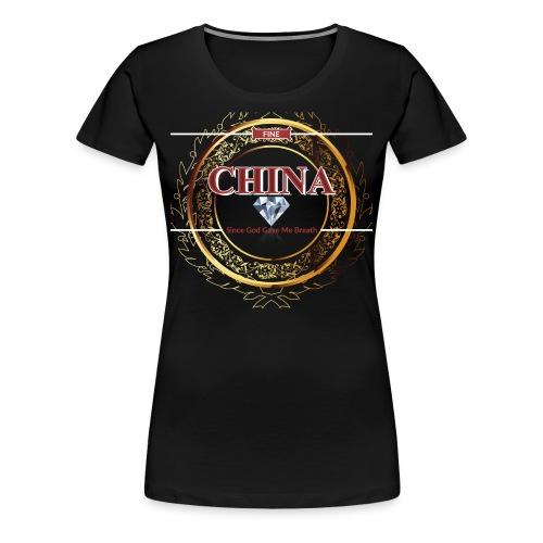 Women's Fine China T-Shirt - Women's Premium T-Shirt