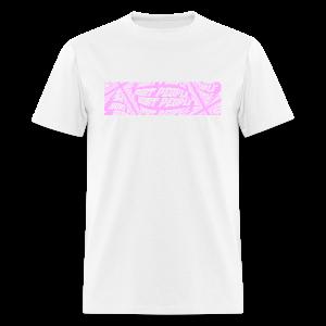 HURT PEOPLE Series x Smiley   PINK Box Logo - Tee - Men's T-Shirt