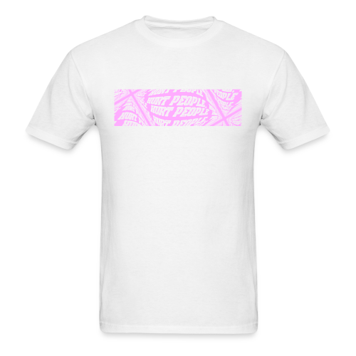 HURT PEOPLE Series x Smiley | PINK Box Logo - Tee - Men's T-Shirt