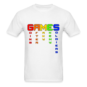 Rainbow Games - Men's T-Shirt