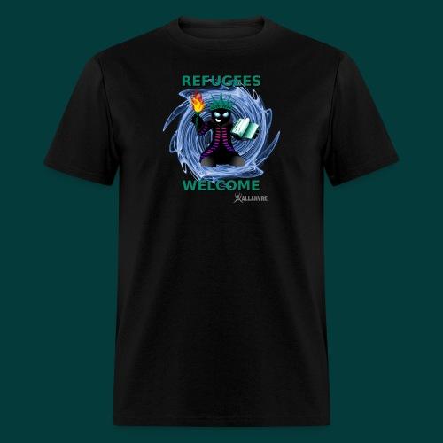 refugees welcome - Men's T-Shirt