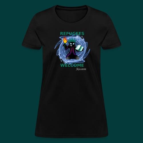 refugees welcome - Women's T-Shirt