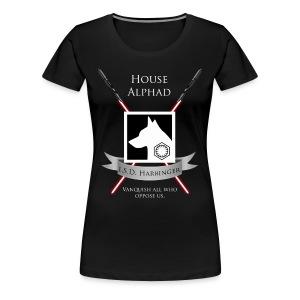 House Alphad Womens T-Shirt - Women's Premium T-Shirt