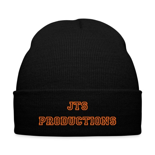 JTS Beanie - Knit Cap with Cuff Print