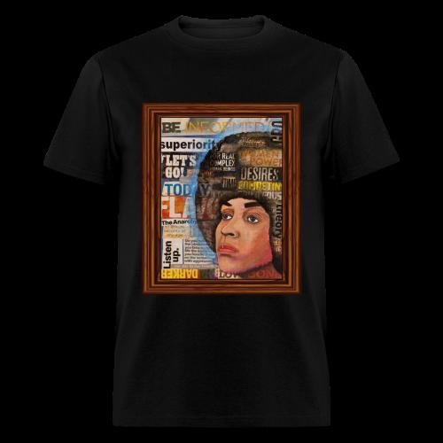 Angela D by Sherwin Long - Men's T-Shirt