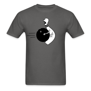 Bowling Ball To The Nuts Men's T-Shirt - Men's T-Shirt
