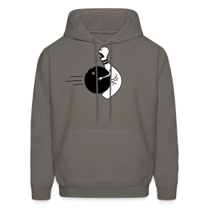 Bowling Ball To The Nuts Men's Hoodie - Men's Hoodie