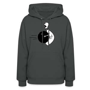 Bowling Ball To The Nuts Women's Hoodie - Women's Hoodie