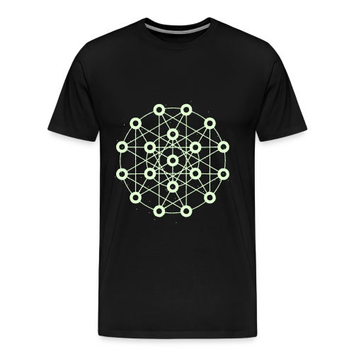 The Orrery Glow - Men's Premium T-Shirt