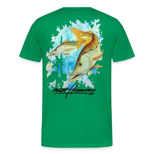 Men's Premium Linesider T-Shirt - Men's Premium T-Shirt
