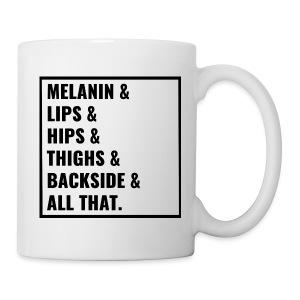 Melanin-Girl-Mug - Coffee/Tea Mug