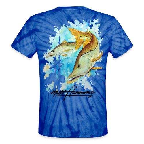 Unisex Tie Dye Linesider T-Shirt - Unisex Tie Dye T-Shirt