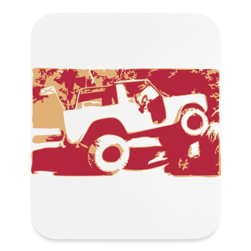 Bronco Tee - Mouse pad Vertical