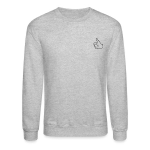 Thumbs Up (Sweater) - Crewneck Sweatshirt