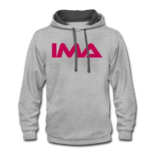 The Official Women Hoodie of IMA  - Contrast Hoodie