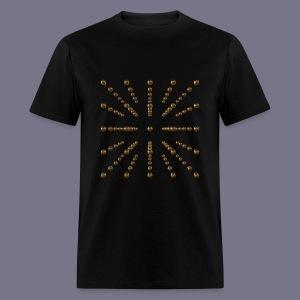 Gold Voxel Men's Tee - Men's T-Shirt