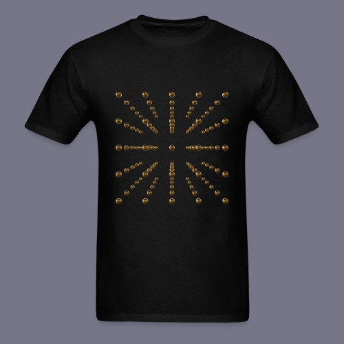 Gold Voxel Men's Tee - Men's T-Shirt