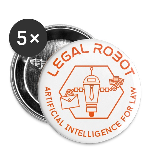 Legal Robot Buttons - Large Buttons