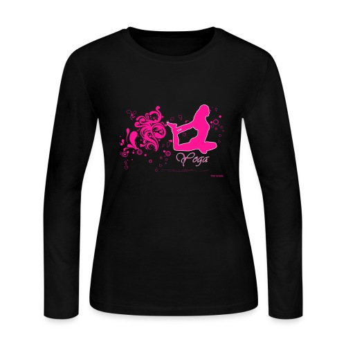 Yoga Women's Long Sleeve shirt - pb - Women's Long Sleeve Jersey T-Shirt