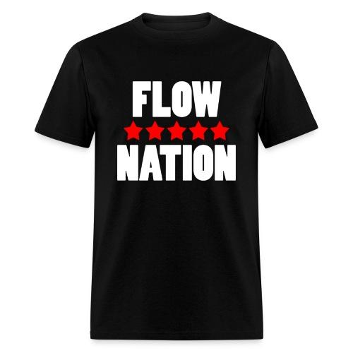 Flow Nation 5 Stars T-shirt 2 (Men's) - Men's T-Shirt