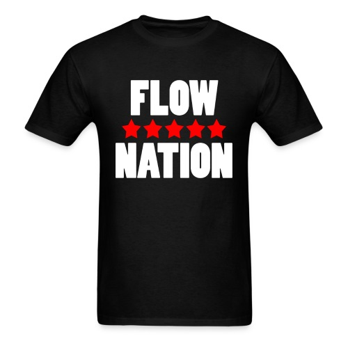 Flow Nation 5 Stars T-shirt 2 (Men's) - Men's T-Shirt