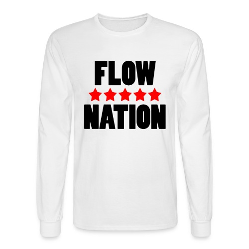 Flow Nation 5 Stars Long Sleeve T-shirt (Men's) - Men's Long Sleeve T-Shirt