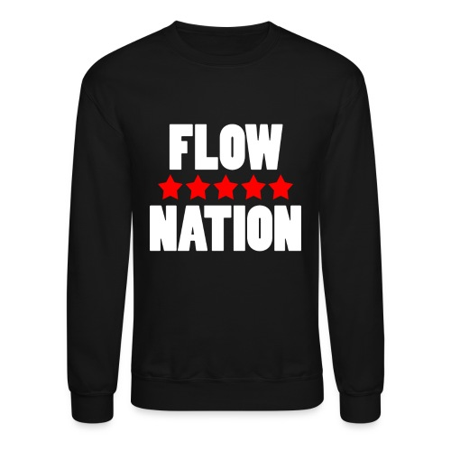 Flow Nation 5 Stars Sweatshirt 2 (Men's) - Crewneck Sweatshirt
