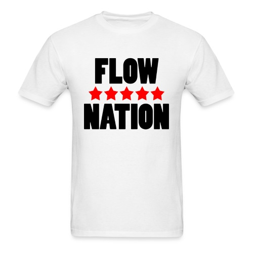 Flow Nation 5 Stars T-shirt (Men's) - Men's T-Shirt