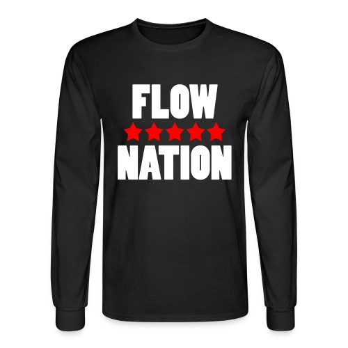 Flow Nation 5 Stars Long Sleeve T-shirt 2 (Men's) - Men's Long Sleeve T-Shirt