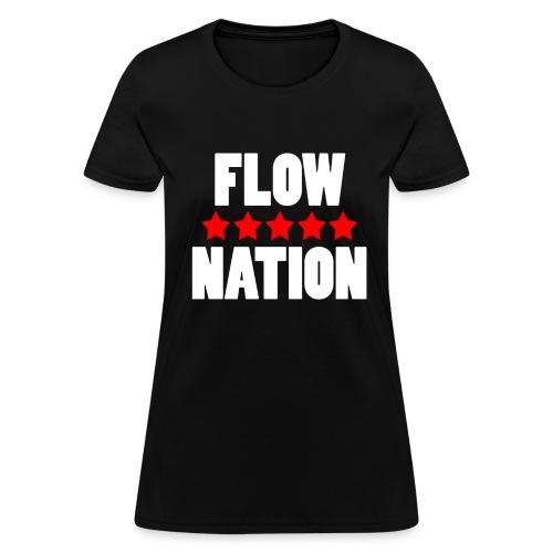 Flow Nation 5 Stars T-shirt 2 (Women's) - Women's T-Shirt