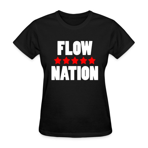 Flow Nation 5 Stars T-shirt 2 (Women's) - Women's T-Shirt