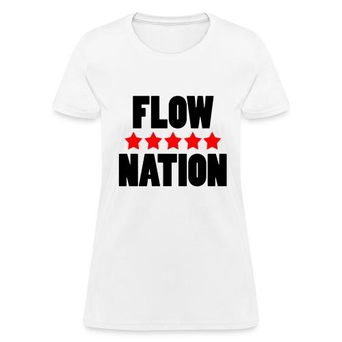 Flow Nation 5 Stars T-shirt (Women's) - Women's T-Shirt