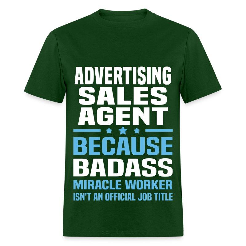 Advertising Sales Agent T-Shirt | Spreadshirt