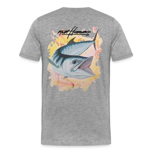 Men's Premium Silver Smoker T-Shirt - Men's Premium T-Shirt