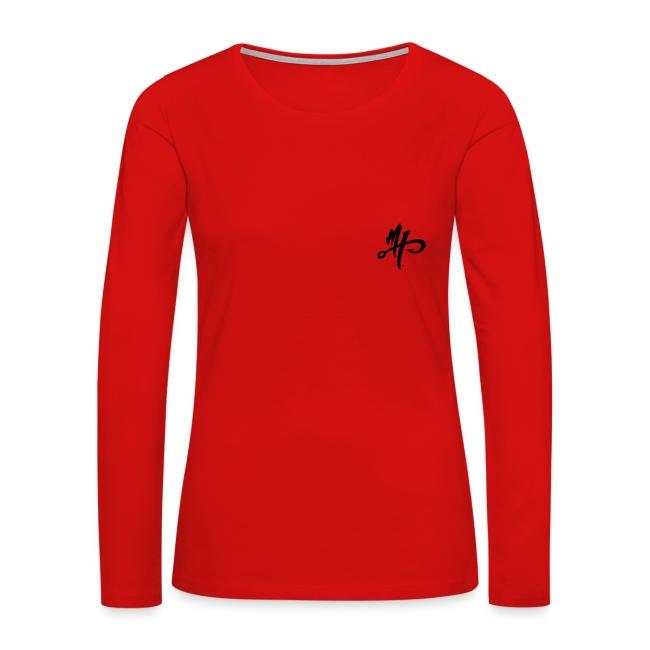 Women's Premium Silver Smoker Long Sleeve Shirt