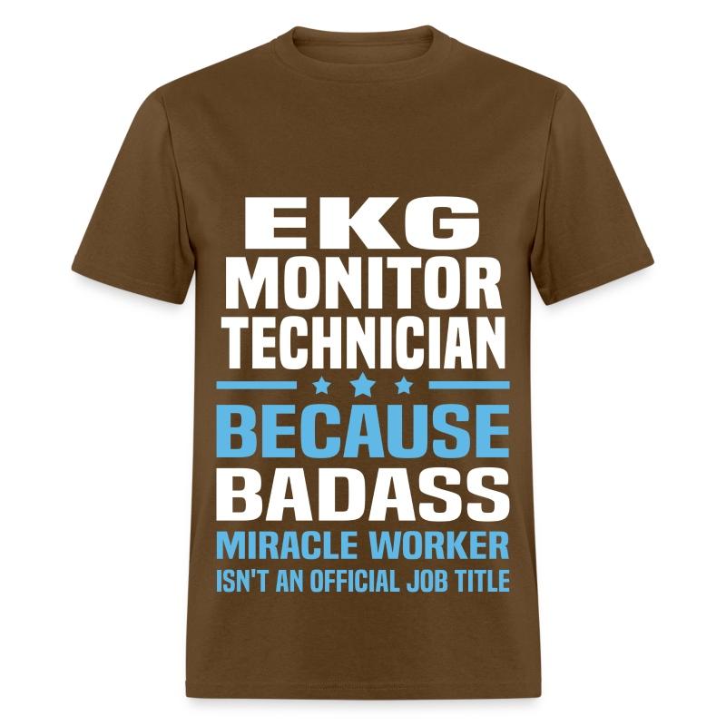 EKG Monitor Technician T-Shirt | Spreadshirt
