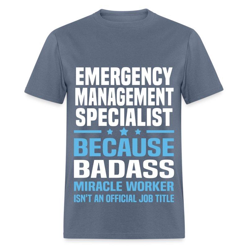 Emergency Management Specialist T-Shirt | Spreadshirt