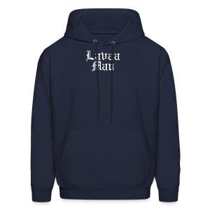 LAVAA MAN BLACKLETTER (WHITE) - HOODIE - Men's Hoodie
