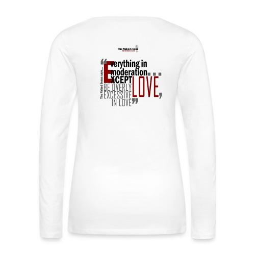 Love - Women's Premium Long Sleeve T-Shirt