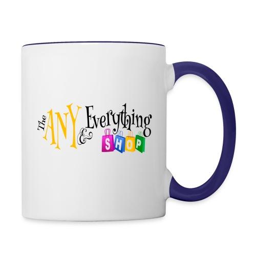 The Any & Everything Mug - Contrast Coffee Mug