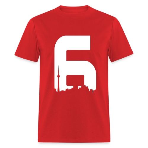Black 6ix City T-Shirt - Men's T-Shirt