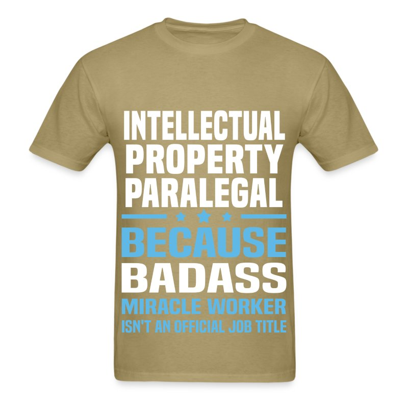 Intellectual Property Paralegal T-Shirt | Spreadshirt