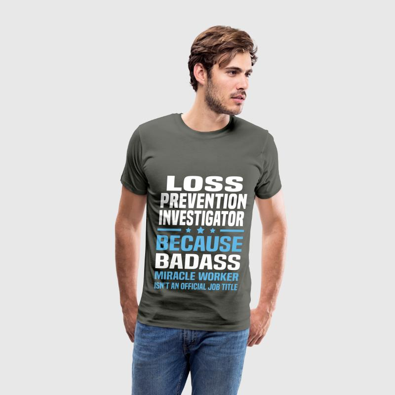 Loss Prevention Investigator Tshirt - Men's Premium T-Shirt