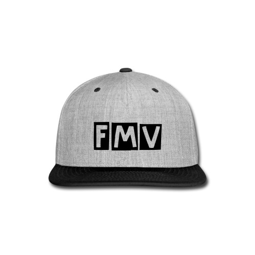 FMV CoolCap in Matte Midnight  - Snap-back Baseball Cap