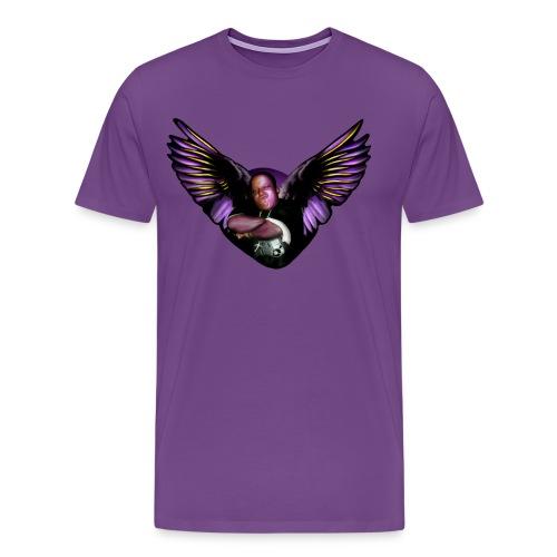 Martyn Heavy P Pope Wings  T-Shirt - Men's Premium T-Shirt