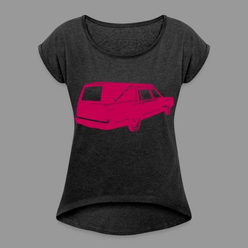 Pink Hearse - Women's Roll Cuff T-Shirt