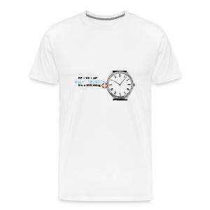 Wristwatch Enthusiast T-shirt Watch Idiot Savant Holy Trinity - Men's Premium T-Shirt