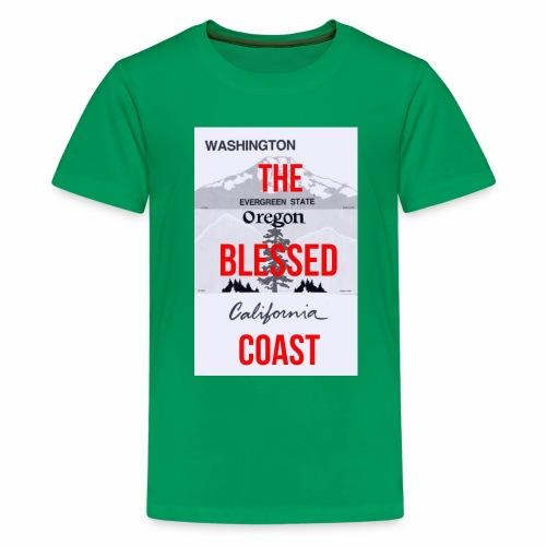 Kids Costal Licence Plate T shirt - Kids' Premium T-Shirt