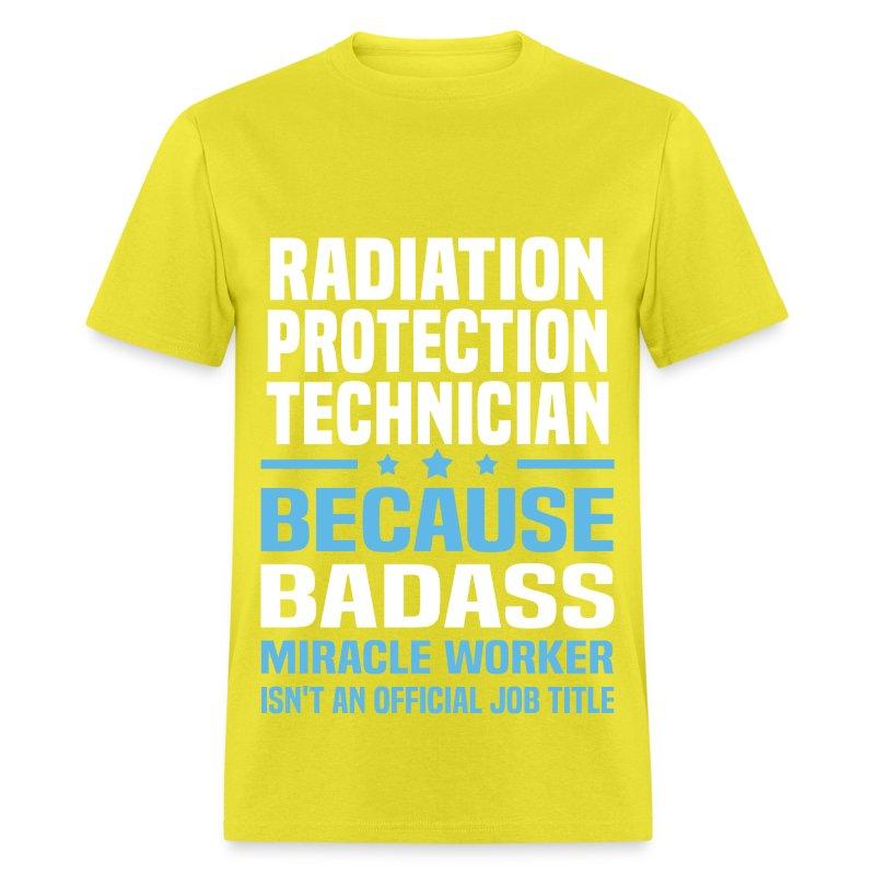 Radiation Protection Technician T-Shirt   Spreadshirt
