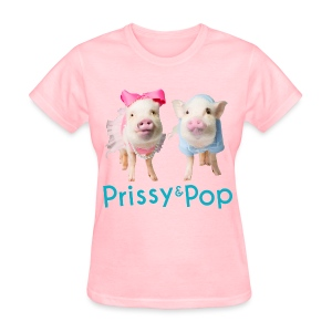 Prissy and Pop Women's Shirt - Women's T-Shirt